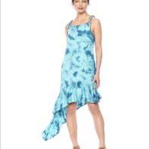 Green Dragon Asymmetrical Dress